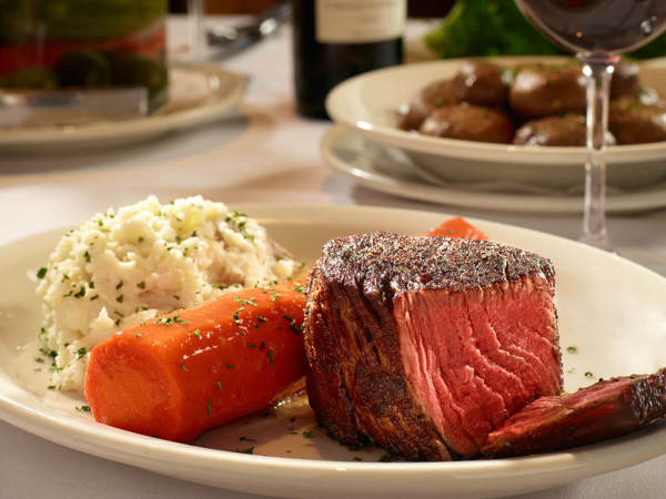 Prime filet at Bob's Steak & Chop House
