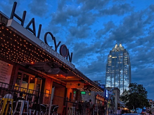Halcyon Austin Texas Coffee Bar
