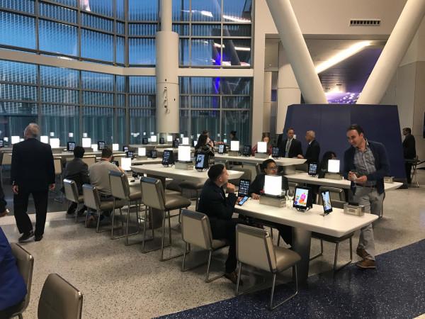 IAH Terminal C North lounge seating