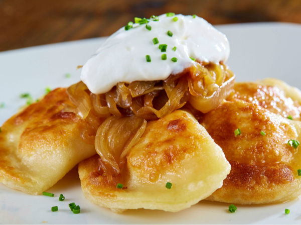 Pierogis, Table at Flower Mound