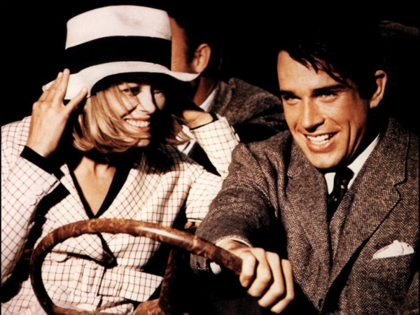 Faye Dunaway and Warren Beatty in Arthur Penn's Bonnie and Clyde