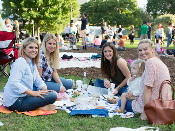 The Waller Creek Conservancy presents Waller Creek Pop-Up Picnic