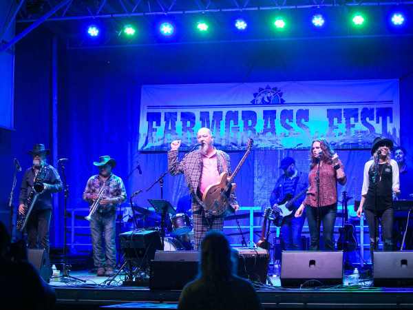 Shinyribs at Farmgrass Fest