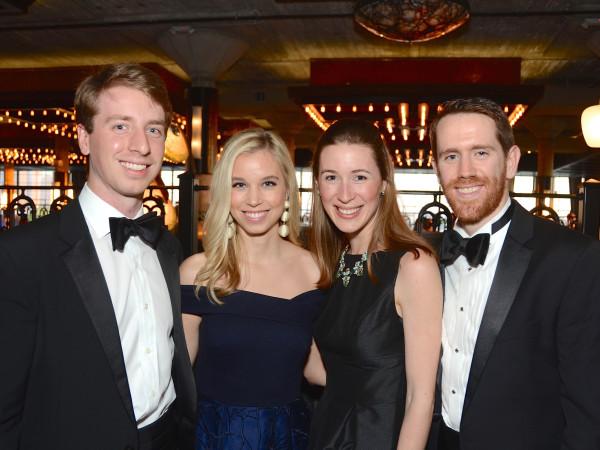 Andrew Thorington and Jennifer Spivack; Katherine and James Ormand at Da Camera Gala