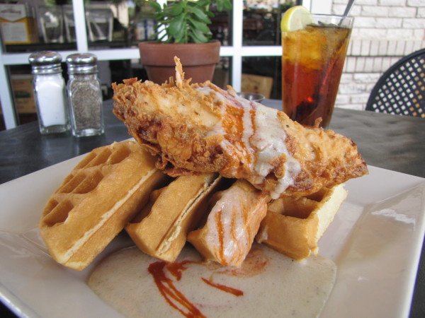 Bread Winners chicken and waffles