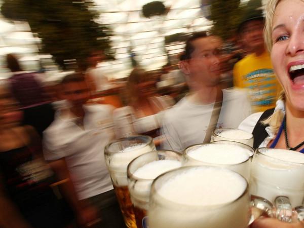 beers, mugs, Oktoberfest
