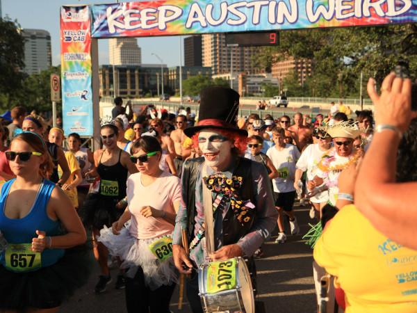 Keep Austin Weird, race, runners