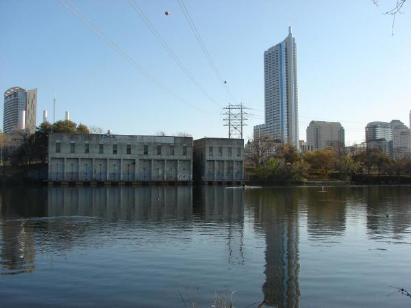 Seaholm Waterfront intake building