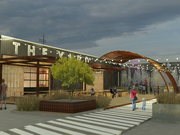 The Yard rendering