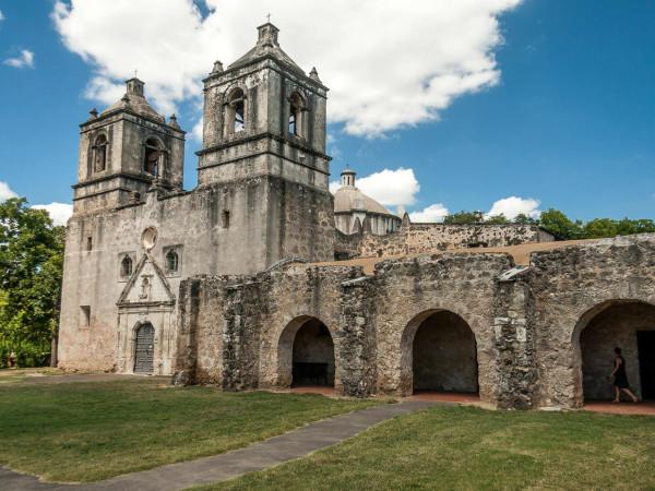 San Antonio Missions National Historical Park Mission Concepcion exterior