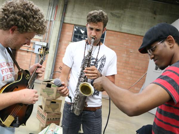 San Antonio Sound Garden musicians concert