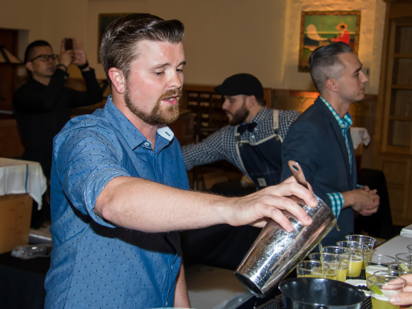 Remedy bartender Zach Potts