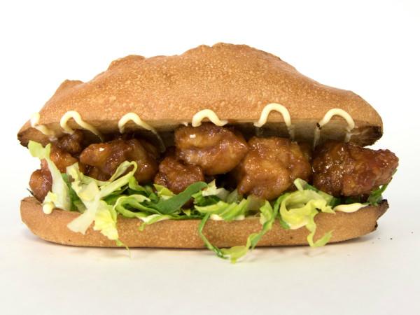 General Tso'Boy Austin restaurant General Tso's chicken sandwich