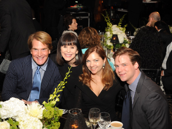 Houston Arts Alliance dinner 5/16, George Lancaster, Sandra Porter, Lauren Rottet, Cameron Springer