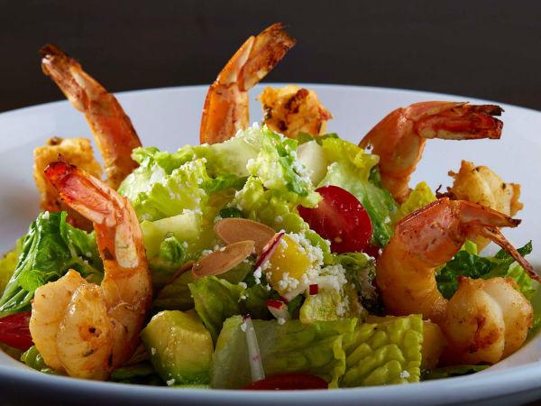 Mi Cocina shrimp salad