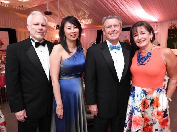 Zoo Ball, 4/2016, Lee Ehmke, Sue Chin, Cathy Cleary, Joe Cleary