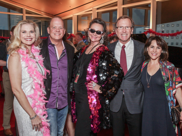 Amy Pierce, Rob Pierce, Jill Connor Browne, Neil Bush, Maria Bush at Sweet Potato Queens party