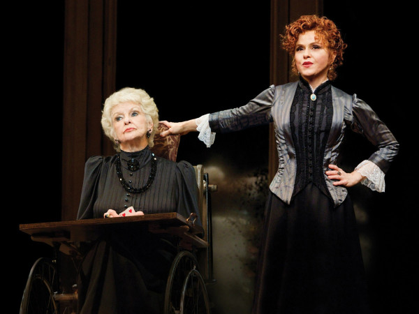 Elaine Stritch and Bernadette Peters in A Little Night Music