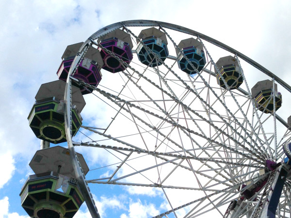 SXSW ferris wheel downtown Austin Mr. Robot USA network March 2016