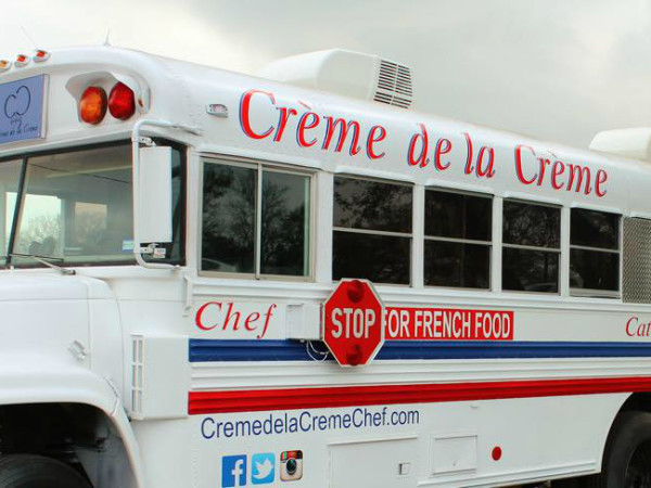 Creme de la Creme food truck Tony Parker Cliff Chetwood