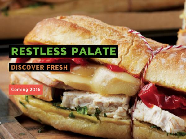 Restless Palate new restaurant
