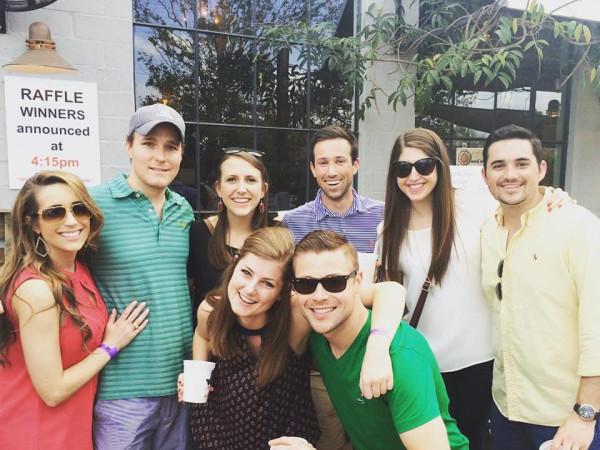 Casa de Esperanza chili cook-off, March 2016, Kristen Killion, Mike Hoffman, Michelle Erwin, Kyle Smith, Brittany London, Luke Franz, Madeline R., David Zahn