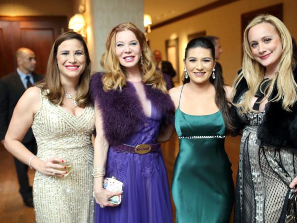 Denali Foundation gala, Feb. 2016, Jacqueline Smooke, Cindi Rose, Sequoia Di Angelo, Erica Rose