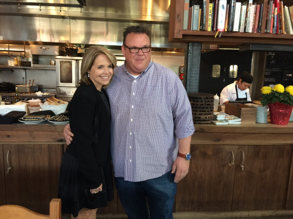Katie Couric, Chris Shepherd at Underbelly, Feb. 2016