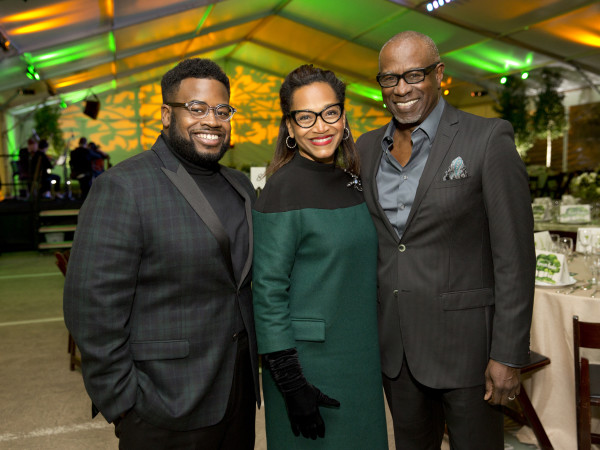 Memorial Park Conservacy Gala, Feb. 2016, Jackson Smith, Anita Smith, Gerald Smith