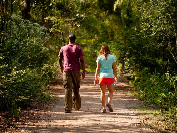 Memorial Park Purple Trail hiking hike