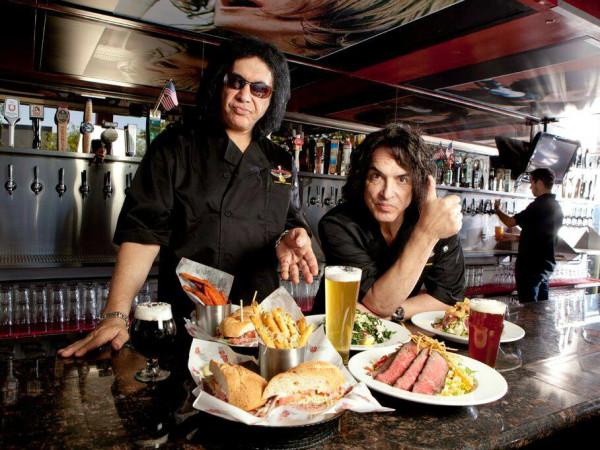 Rock & Brews restaurant Gene Simmons Paul Stanley KISS band