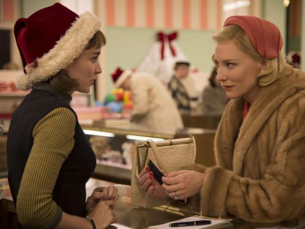 Rooney Mara and Cate Blanchett in Carol