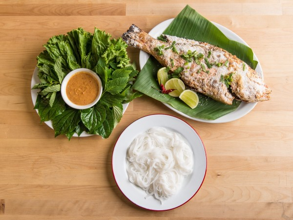 Foreign Correspondents grilled fish