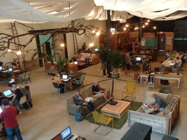 Vuka Austin coworking event space desks office 2015