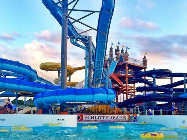 Schlitterbahn water park New Braunfels slide 2015