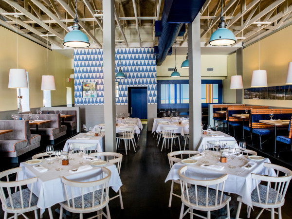 Alice Blue dining room