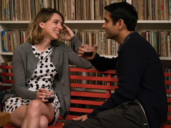 Zoe Kazan and Kumail Nanjiani in The Big Sick