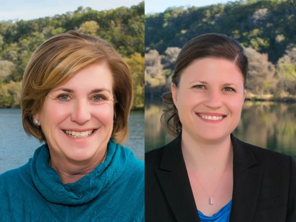 Karen Cunningham and Sonya Cunningham