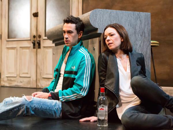 Alley Theatre: Describe the Night, Elizabeth Bunch, Stephen Stocking
