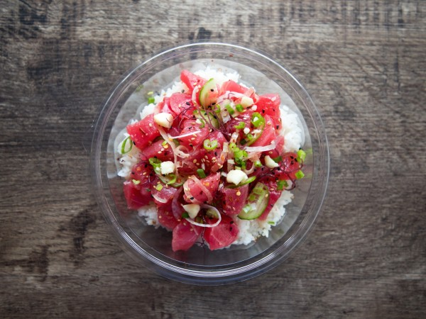 Pokeworks tuna poke bowl
