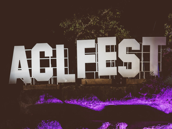 Austin City Limits Festival ACL Fest 2017 Weekend One ACL Fest Sign