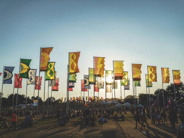 Austin City Limits Festival ACL Fest 2017 Weekend Two Flags