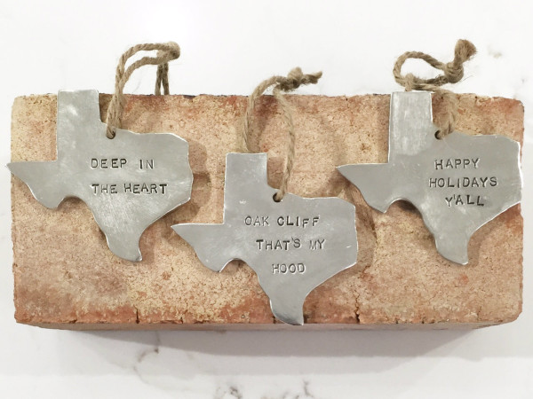Steel Texas Ornament