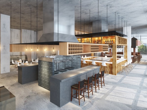 Bravery Chef Hall rendering