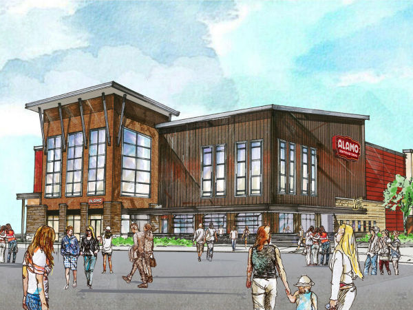 Rendering of Alamo Drafthouse Denton