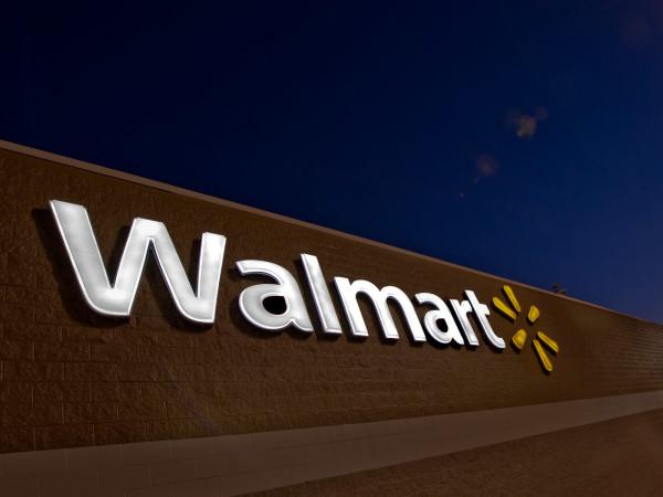 Walmart, sign, logo, December 2012