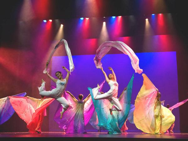 Chinese Dance Recital Children's Museum Houston