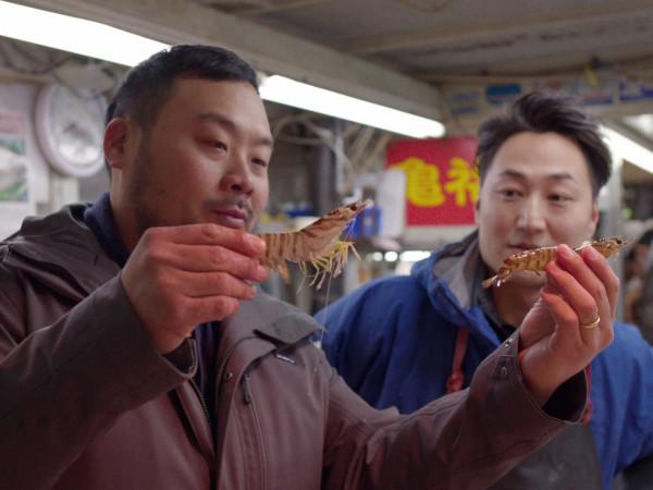 David Chang Ugly Delicious production still