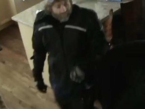 M Street burglar