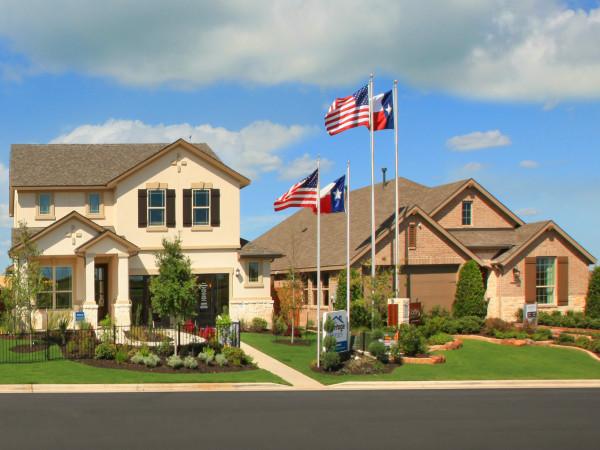 Crosswinds model homes